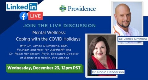 Mental Wellness: Coping with the COVID Holidays