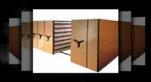 10 56 29 Storage Racks 10 56 13 Mobile Shelving Manual Motorized 10670 Storage Shelves