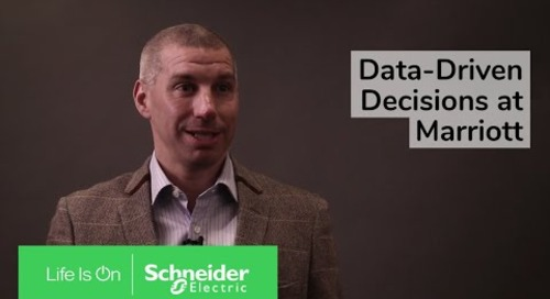 Data-Driven Decisions at Marriott | Schneider Electric