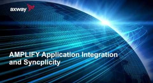 Demo | AMPLIFY Application Integration and Syncplicity