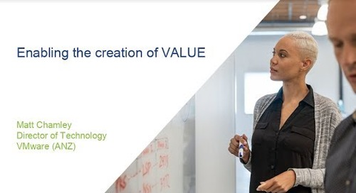 Sydney - Enabling the creation of VALUE - Matt Chamley