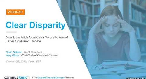 Clear Disparity: New Data Adds Consumer Voices to Award Letter Confusion Debate