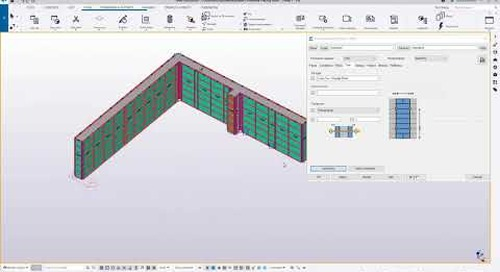 Tekla Structures Wall Formwork Tutorial
