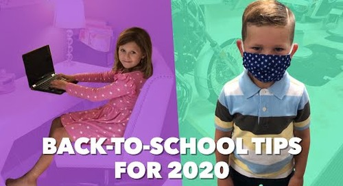 How We Deal At Home: Tips for Heading Back-To-School