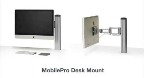 MobilePro Desk & Wall Mounts for Apple Displays
