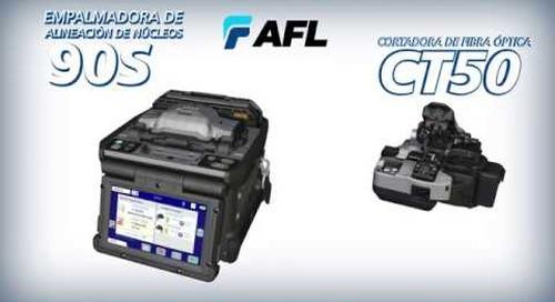 AFL presenta la empalmadora 90S de Fujikura con alineación de núcleos