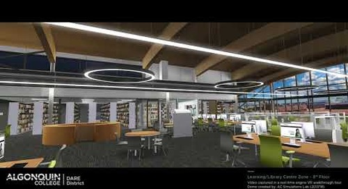 DARE District - Learning/Library Centre Zone (3rd Floor)