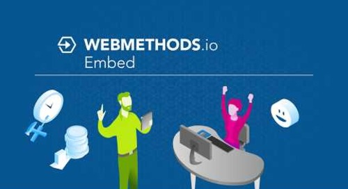 Intro to webMethods.io Embed