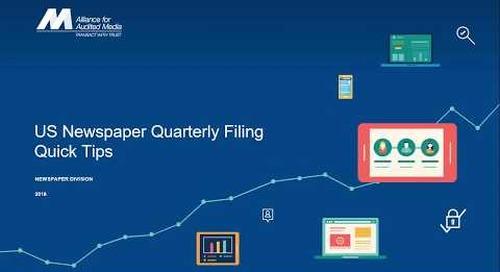 Newspaper Quarterly Filing Tips and Tricks [webinar]