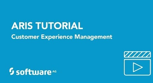 Tutorial: Managing Customer Experience with ARIS
