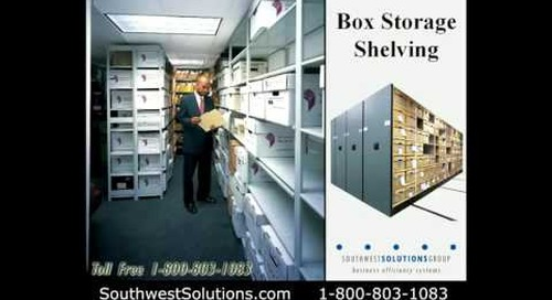 High Density Supply Box Storage Shelves for Green Building Design Mobile Storage