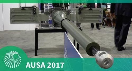 AUSA 2017: Orbital ATK XM813 Bushmaster Chain Gun