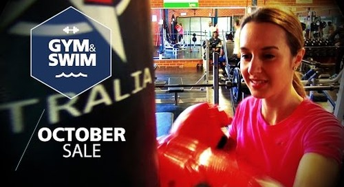 Gym & Swim October Sale: Craigieburn Leisure Centre