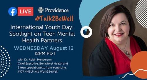 International Youth Day: Spotlight on teen mental health partners