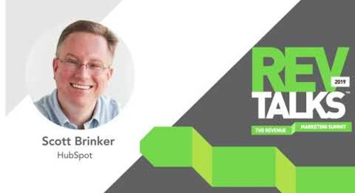 Scott Brinker REVTalks 2019 Intro