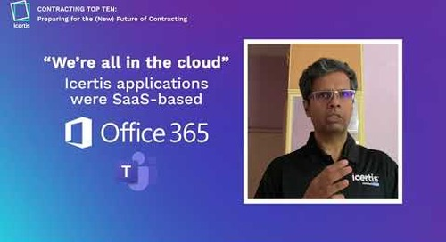Icertis Leverages Microsoft Azure and Teams to Stay Safe During the COVID-19 Pandemic