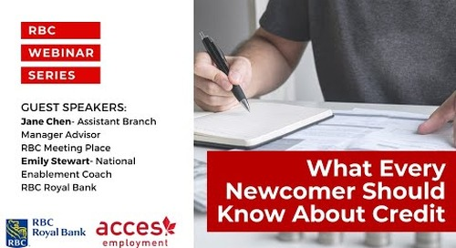 What Every Newcomer Should Know About Credit