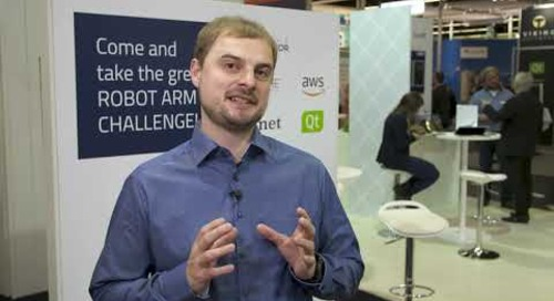 Amazon Web Services create ROBOT ARM CHALLENGE with MXNet deep learning and Qt {showcase}