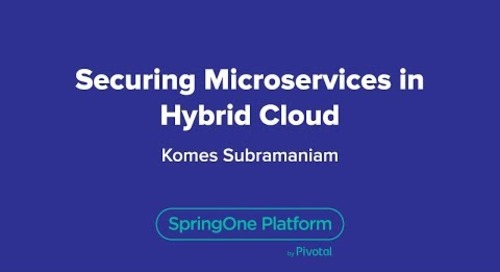 Securing Microservices in Hybrid Cloud