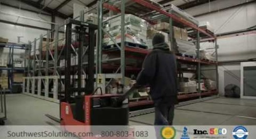 Compact Pallet Racks for Campus Operation Warehouse Storage