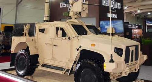 DVD 2016: Oshkosh Defense's Joint Light Tactical Vehicle and Striker
