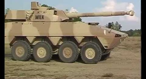 CMI Defence Rosomak WILK Live Fire Demo