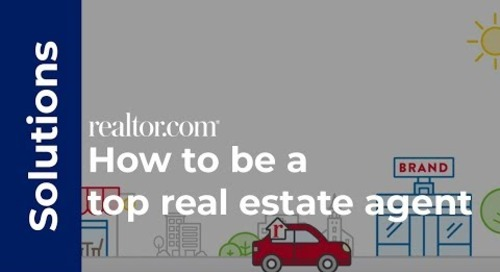 How to be a top real estate agent