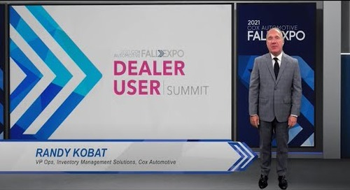 Fall Expo 2021 Replay | The Art and Science of Appraising and Acquiring Customer Cars | vAuto