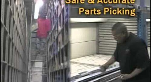 Ergonomic Automated Storage Systems | OSHA Friendly Parts Storage