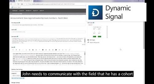 Dynamic Signal + Microsoft Teams