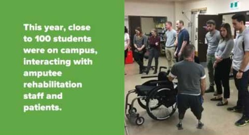 University of Toronto Physical Therapy Students visit West Park