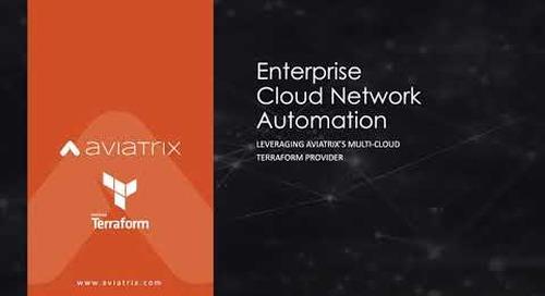 TechTalk | Infrastructure as Code – Terraform + Aviatrix