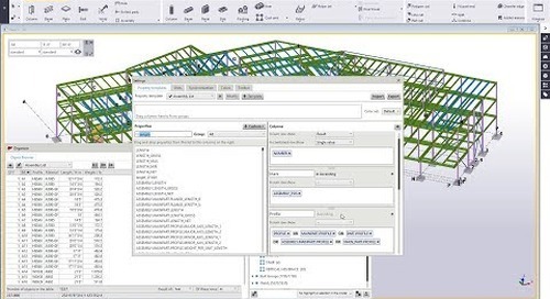 Tekla Structures Organizer Part 3 - Customizing Property Templates/Reports