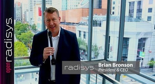 Open Radisys - Fast Forward to More Agile, Flexible and Profitable Networks