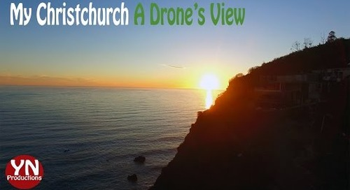 My Christchurch A Drone's View: Amazing Drone Views of Christchurch