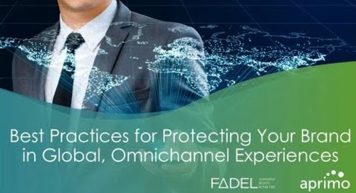 On-Demand Webinar: Aprimo & FADEL: Best Practices for Protecting Your Brand in Global, Omnichannel Experiences