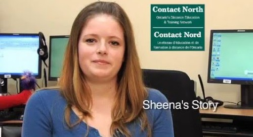 Online learning - Sheena, Willow Beach, ON