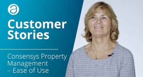 AppFolio Customer Stories – Consensys Property Management – Ease of Use