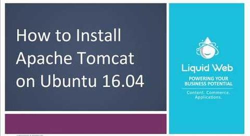 Installing Tomcat 8 on Ubuntu 16.04