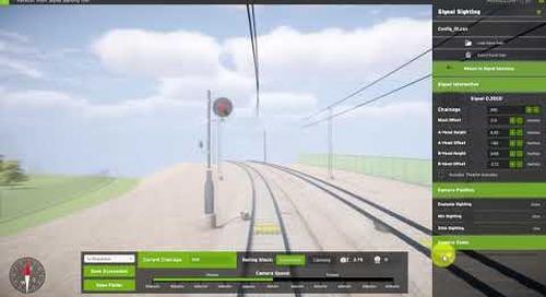 Visualising Rail: Aurecon's VizRT Signal Sighting Tool