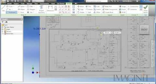 Autodesk Factory Design Suite - Using a PDF file as the Floorplan