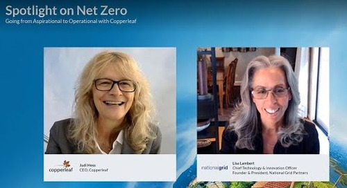Spotlight on Net Zero: Going from Aspirational to Operational with Copperleaf