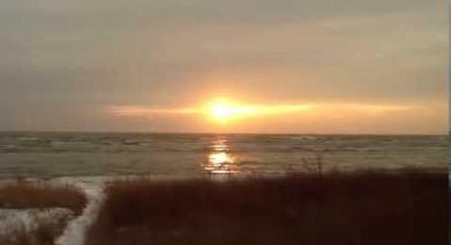Sunrise on the Fresh Riviera, Door County, WI