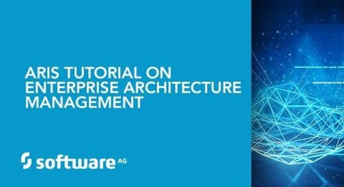 ARIS tutorial on Enterprise Architecture Management