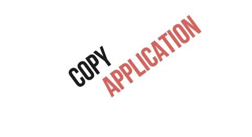 Copy Application
