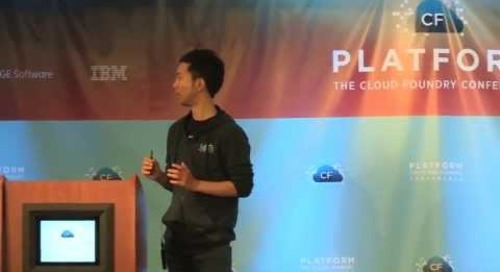 Cloud Foundry at NTT Group (Platform: The Cloud Foundry Conference 2013)