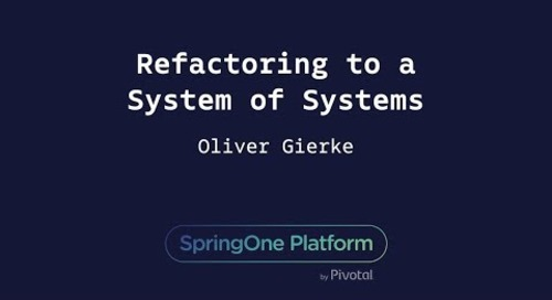 Refactoring to a System of Systems - Oliver Gierke