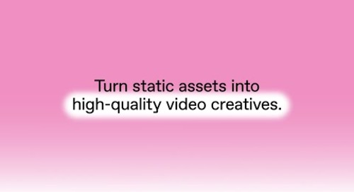 Produce video content at scale with Creative Automation