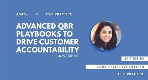 QBR Playbooks That Drive Customer Accountability