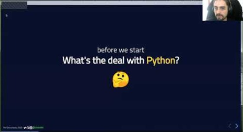 Embracing Python: From Prototypes to Hybrid Applications {Qt Virtual Tech Con 2020}